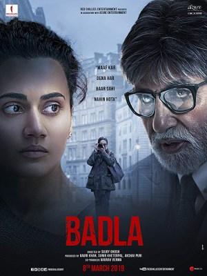 Badla (2019) [Hindi]
